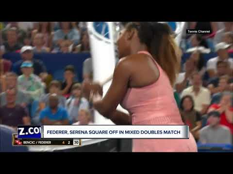 serena-williams,-roger-federer-face-off-for-first-time