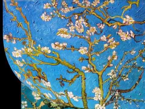 Описание картины Винсента Ван Гога  «Цветущие ветки миндаля»