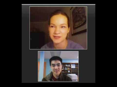 Ben Chan interviews Hilary Hahn on YouTube