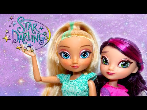 Disney Star Darlings Doll Basic Wish World Piper and Scarlet Review!