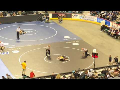 Roselle Park's Mark Montgomery scores 1st round upset in AC at 126 pounds