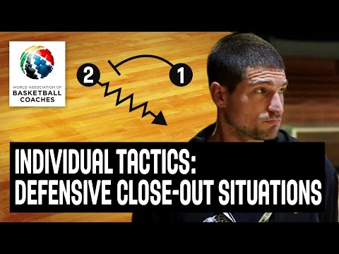 Individual tactics in close-out situations - Ivan Rudez - Basketball Fundamentals