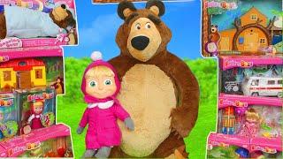Masha et Michka jouets - Macha et l'ours Michka - Masha and the Bear Toys