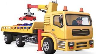 Build Bridge Blocks Toys Construction, Excavator, Tractor, Dump Truck, Backhoe~! Baby TOYS