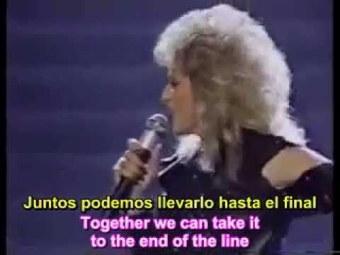 Eclipse total del amor Bonnie Tyler   Traducido Español subtitulado