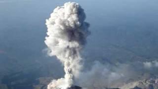 Volcanic Eruption - Santiaguito volcano, Guatemala