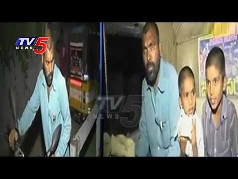 Drunkard Father Tried To Sold His Sons For Money | Karimnagar | TV5 News