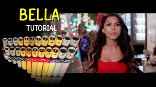 Bella remix - Tutorial de Zampoña