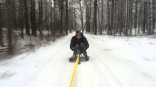 Bernati - snow drift!