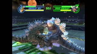 Godzilla: Save The Earth - Godzilla 90's VS. Space Godzilla (BOXING RING)