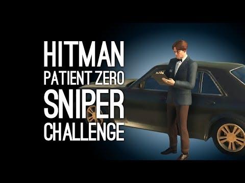 Hitman Patient Zero The Vector: SNIPER CHALLENGE!