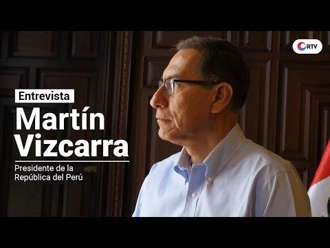 Entrevista Martín Vizcarra: 'Vamos a recuperar el principio de autoridad'