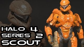 McFarlane Halo 4 Series 2 SCOUT Figure Review
