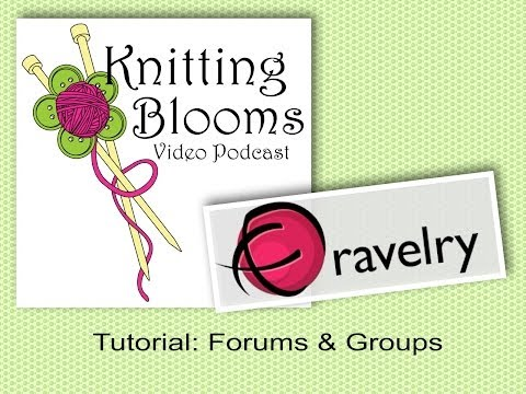 Ravelry Forums & Groups - Tutorial - Knitting Blooms