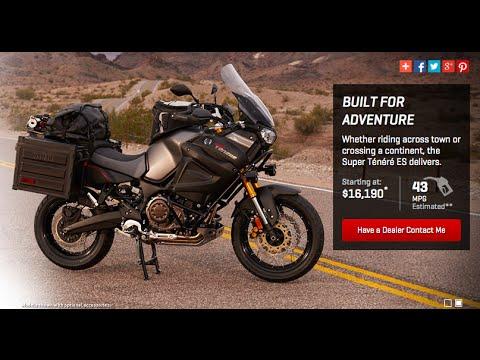 2014 Yamaha Super Tenere Unbiased Motorcycle Review plus BREAKFAST yummy!