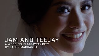 Jam and Teejay: A Wedding in Tagaytay City