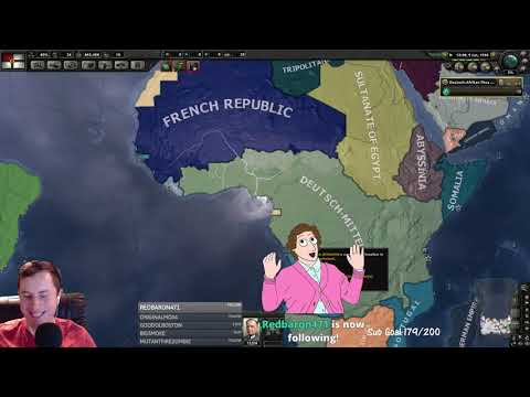 Hearts of Iron 4 Kaiserriech - Italy and Africa