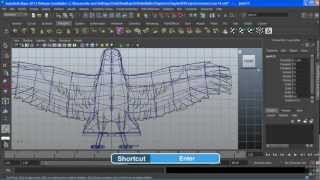 Maya 2013 Tutorial | Creating A Skeleton | InfiniteSkills