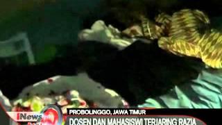 Dosen Dan Mahasiswa Hingga Pasangan Lanjut Usia Terjaring Razia Tempat Mesum - INews Pagi 04/04