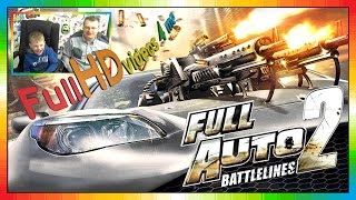 Full Auto 2 Battlelines - 2017 - Car racing game - 2 Player gameplay - PS3