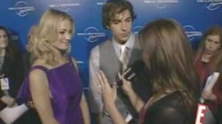 Zachary Levi And Yvonne Strahovski  Interview (Watch With Kristin)