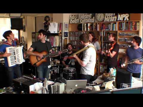 Hey Marseilles: NPR Music Tiny Desk Concert
