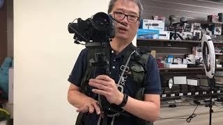 zhiyun crane 2 大三軸穩定器 搭 canon 做 跟焦 圖傳 省力 教學 20180501 IMG 3015