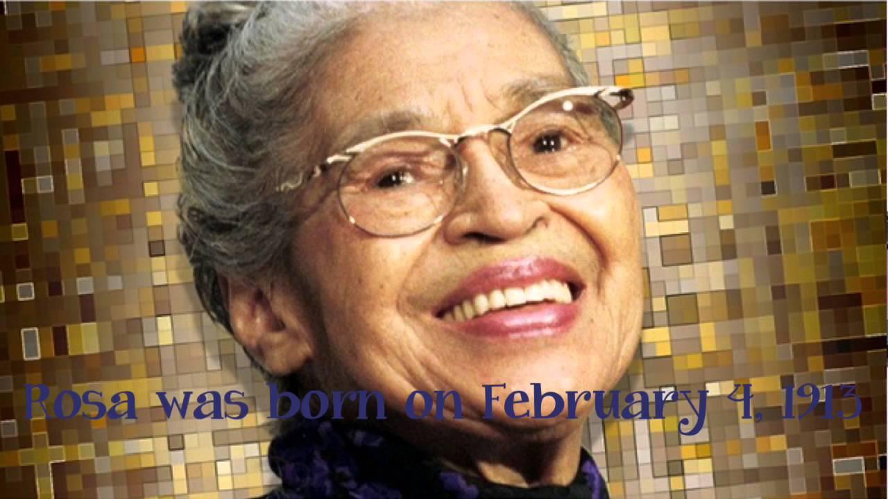 Rosa Louise Parks nata Rosa Louise McCauley Tuskegee 4 febbraio 1913 Detroit 24 ottobre 2005 è stata unattivista statunitense figurasimbolo del movimento