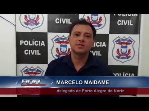 Madrasta e presa acusada de espancamento em Porto Alegre do Norte