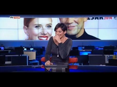 Sky Tg24, Valentina Bendicenti non riesce a smettere di ridere