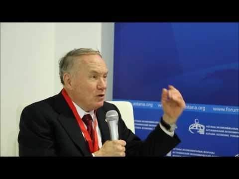 Interview with Edward Prescott at Astana Economic Forum 2016