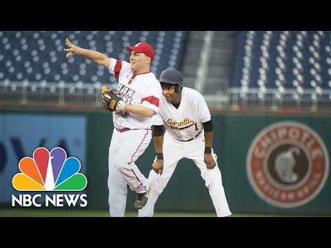 Republicans And Democrats Take The Field For Congressional Baseball Game | NBC News
