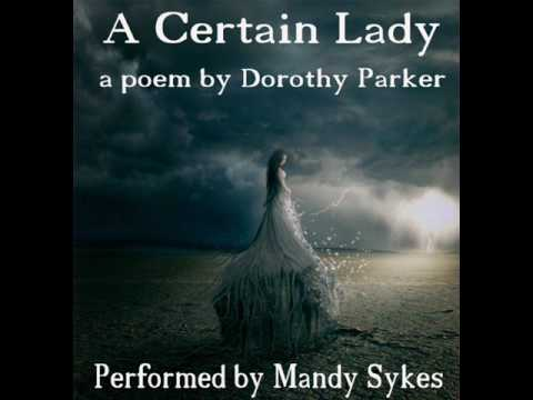 a certain lady poem analysis
