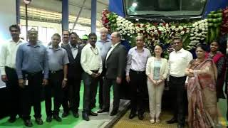 The final train of Chennai Metro phase-1 project order
