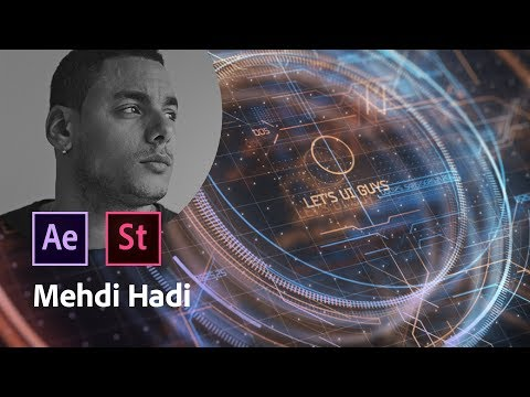 Masterclass avec Mehdi Hadi | After effects et les intégrations d'interfaces | Adobe France