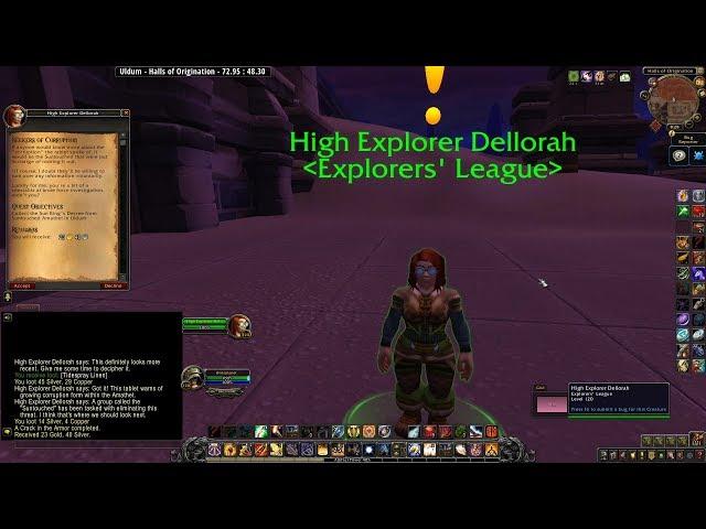 Seekers of Corruption | 8.3 Explorer's League Quests