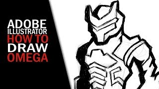 Fortnite | How to draw Omega