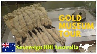 Gold Museum Tour | Sovereign Hill 18 | Australia Travel Blog | 26N11D18