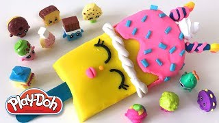 Shopkins Popsicle Ice Cream DIY Play-Doh Recipe  - CLAY ART TV