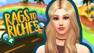 HOMELESS   Sims 4 Rags to Riches Challenge Ep.1   The Sims 4