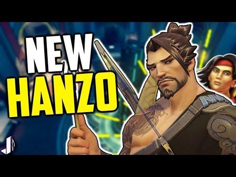 NEW HANZO! Familiar Ability Rework? Overwatch PTR Gameplay