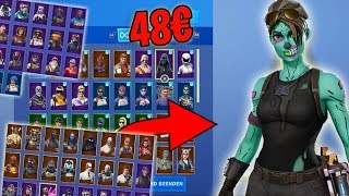 I buy a Fortnite account for 48 € and got the... 😱💵Fortnite German