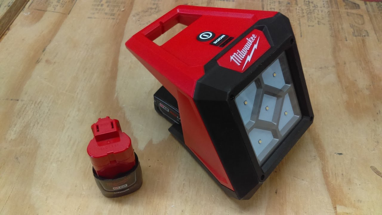 Flood Light Reviews Milwaukee M12 Rover Compact Flood Light Review - Youtube