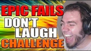 EPIC FAILS DONT LAUGH CHALLENGE   ZellenDust