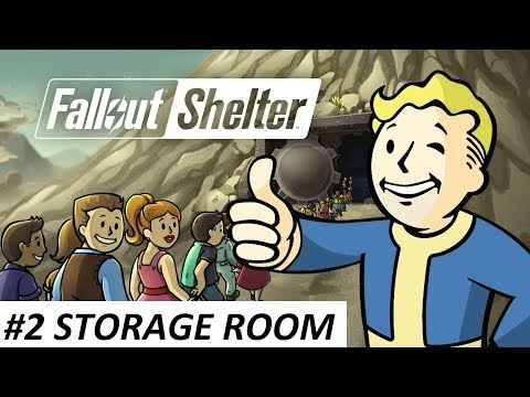 Fallout Shelter Gameplay #2 - Storage Room