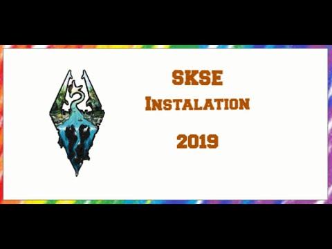 Skyrim SE SKSE 2 0 12 Installation (2019)