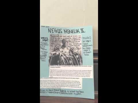 Menelik II Nonviolence