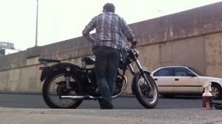 Starting my 1949 Matchless G80S