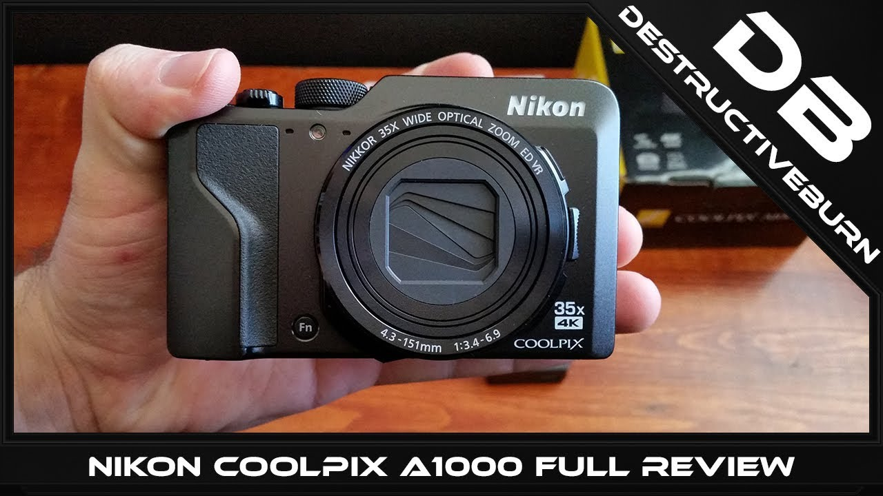 Nikon Coolpix A1000 Full Review And Unboxing Video With All Tests But 4k Youtube