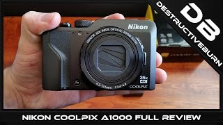 Nikon COOLPIX A1000 Full Review and Unboxing Video with all tests but 4K